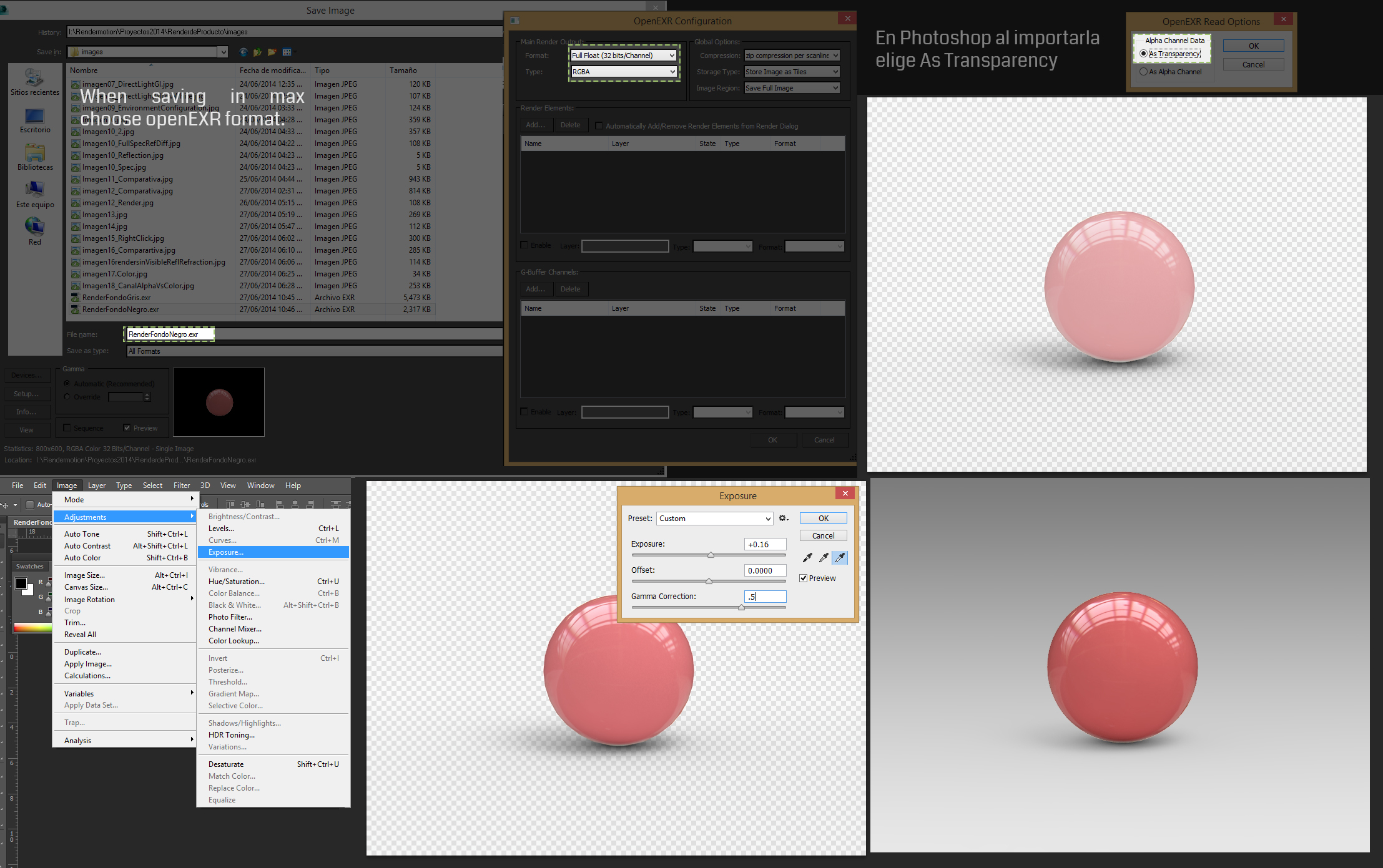 Rendermotion - Product Render with Vray